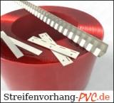 Ersatz-/Zusatzteile für PVC Streifenvorhänge / Schweisserschutz