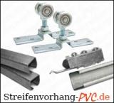 Verschiebbare PVC Streifenvorhänge - für Schweißerkabinen