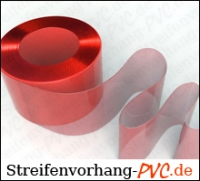 PVC Rot Rollenware 400x4mm