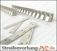 PVC Streifenvorhang 4,00m Breite x 3,75m Länge