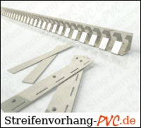 Tiefkühl PVC Streifenvorhang 2,50m Breite x 2,00m Länge