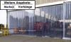 Beispiel: Hallenabtrennung - PVC Streifen in 400x4 mm