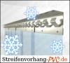 Tiefkühl PVC Streifenvorhang 2,00m Breite x 2,00m Länge