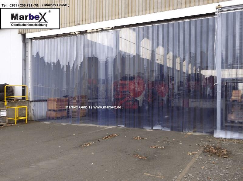 Marbex Streifenvorhang PVC