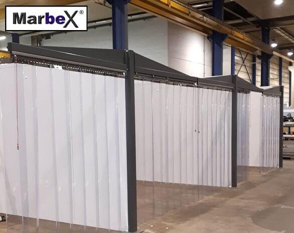 PVC Lamellenvorhang